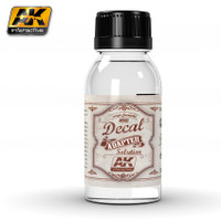 Decal Adapter Solution 100ml Bottle AK Interactive