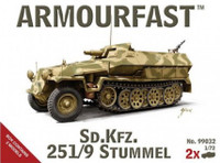 SdKfz 251/9 Stummel Tank (2) 1/72 Armour Fast