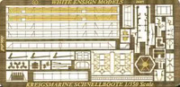 S100 Class Schnellboot Detail Set for TRP 1/350 White Ensign Models