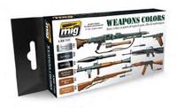 Weapons Colors Paint Set Ammo of Mig Jimenez