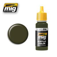 Dark Green FS34079 (BS641) Ammo of Mig Jimenez