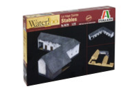 Waterloo 1815 La Haye Sainte Stables 1/72 Italeri