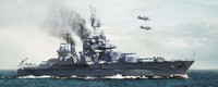 USS Maryland BB46 Battleship 1945 1/700 Trumpeter