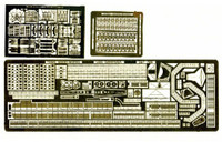 USS Saratoga CV3 Aircraft Carrier Detail Set for TAM 1/700 Toms Modelworks