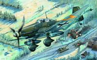 Junkers Ju87G2 Stuka German Dive Bomber 1/32 Trumpeter