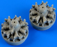 C-47 Skytrain Engines for AIR 1/72 Quickboost