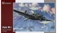 Digby Mk I Bolo Canadian Service Bomber 1/72 Special Hobby