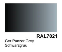 German Panzer Grey RAL 7021 Surface Primer 200mL Bottle Vallejo