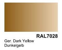 German Dark Yellow RAL 7028 Surface Primer 200mL Bottle Vallejo