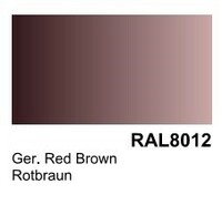German Red Brown RAL 8012 Surface Primer 200mL Bottle Vallejo