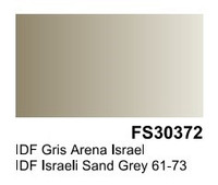 IDF Israeli Sand Grey 61-73 FS30372 Surface Primer 200mL Bottle Vallejo