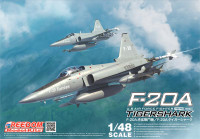 F-20A Tigershark US Air Force Fighter 1/48 Freedom Models