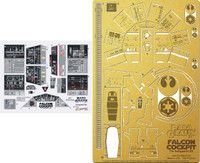 DeAgostini Millennium Falcon Cockpit Photo-Etch & Decal Set 1/43 Paragrafix