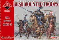 War of the Roses 10 : Irish Mounted Troops 1/72 Red Box Figures