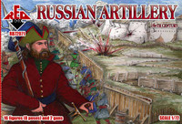 Russian Artillery XVI Century 1/72 Red Box Figures