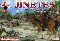Jinetes XVI Century Set #1 1/72 Red Box Figures
