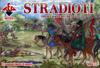 Stradioti XVI Century Set #2 1/72 Red Box Figures