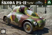 WWII Skoda PA-II Turtle Vehicle 1/35 Takom Models