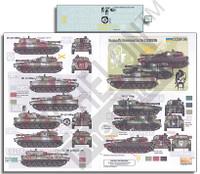 Ukrainian AFVs Ukraine-Russia Crisis Pt.4 2S1 Gvozdika 1/35 Echelon Decals