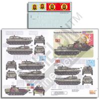 Novorossian AFVs Ukraine-Russia Crisis Pt.1 2S1 Gvozdika & BPM2 1/35 Echelon Decals