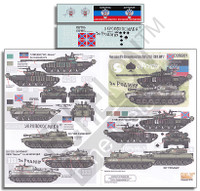 Novorossian AFVs Ukraine-Russia Crisis Pt.5 T72B1 (ERA), 2S1 Gvozdika & BMP2 1/35 Echelon Decals