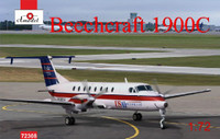 Beechcraft 1900C US Air Express Turboprop Aircraft 1/72 A-Model