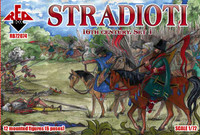 Stradioti XVI Century Set #1 1/72 Red Box Figures