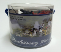 Revolutionary War Soldiers Playset (37pcs/Tub) 1/32 Playsets