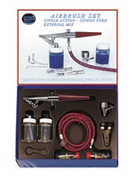Airbrush Set w/H Brush Heavy Duty (H-SET)Paasche Airbrush