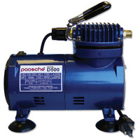1/8 HP Air Compressor 115v (D-500)Paasche Airbrush