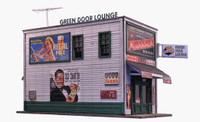 Green Door 2-Story Lounge Kit N Scale Blair Line