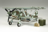 Fiat CR42 Night Attacker Luftwaffe Biplane 1/48 Tamiya