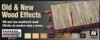 Old & New Wood Effects Model Air Paint Set Vallejo