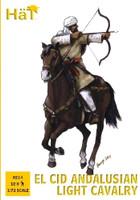 El Cid Andalusian Light Cavalry (12 Mtd) 1/72 Hat