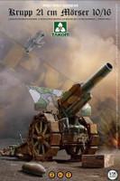Krupp 21cm Morser 10/16 Heavy Howitzer Gun 1/35 Takom