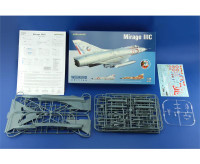 Mirage III C Fighter (Wkd Edition Plastic Kit) 1/48 Eduard