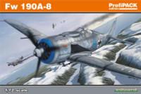 Fw 190A-8 Aircraft (Profi-Pack Plastic Kit) 1/72 Eduard
