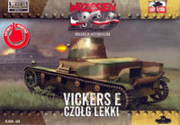 WWII Vickers E Polish Light Tank w/Single Turret 1/72 First To Fight Models