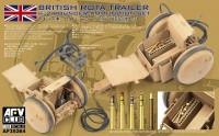 British Rota Trailer w/2-Pdr Ammo Set 1/35 AFV Club