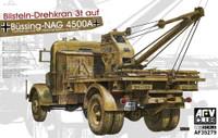German Kfz100 L4500A Truck w/Bilstein 3T Crane 1/35 AFV Club