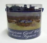 American Civil War Soldiers Playset (47pcs/Tub) 1/32 Playsets