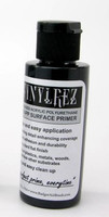 Stynylrez Water-Based Acrylic Primer Black 4oz. Bottle Badger