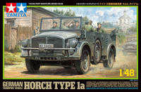 German Horch Type 1a Transport Vehicle 1/48 Tamiya