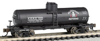 ACF 36.5' 10,000 Gal. Single Dome Tank Car Allegheny Refining N Scale Bachmann Trains