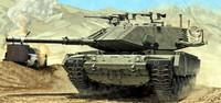 Magach 7C Gimel Israeli Defence Forces Battle Tank 1/35 Academy