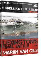 Lexington's Final Battle Modeling Full Ahead Special Book AK Interactive