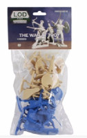 The War at Troy Figure Playset (8ea Greeks/Trojans) 1/32 Playsets