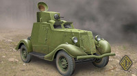 FAI-M Soviet Light Armored Car 1/48 Ace Models