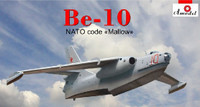 Beriev Be-10 NATO Code Mallow Amphibious Bomber 1/144 A-Model