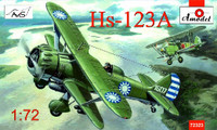 Henschel Hs 123A Chinese Dive Bomber 1/72 A-Model